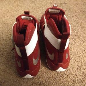 b885ee9ffbc Nike Shoes - Nike Lebron Soldier 10 TB Promo Size 17 Team Rd